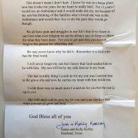 Embracing Newtown Volunteer Favorite Letters 343