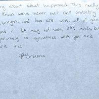 Embracing Newtown Volunteer Favorite Letters 349