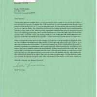 Embracing Newtown Volunteer Favorite Letters 35