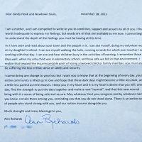 Embracing Newtown Volunteer Favorite Letters 353