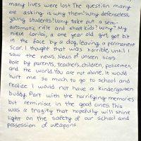 Embracing Newtown Volunteer Favorite Letters 36