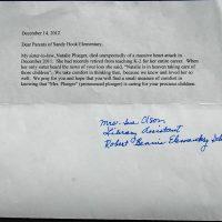 Embracing Newtown Volunteer Favorite Letters 361