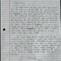 Embracing Newtown Volunteer Favorite Letters 362