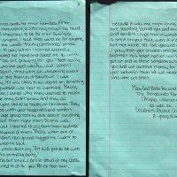 Embracing Newtown Volunteer Favorite Letters 364