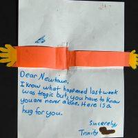 Embracing Newtown Volunteer Favorite Letters 368